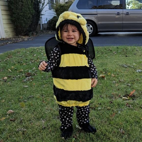 baby bumblebee halloween costume 12 18 mos